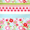 Charlotte floral quilt print fabric
