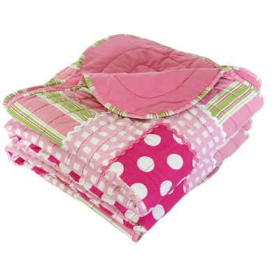 Emma quilted patchwork comforter