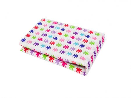 Multicoloured star Fitted Sheet