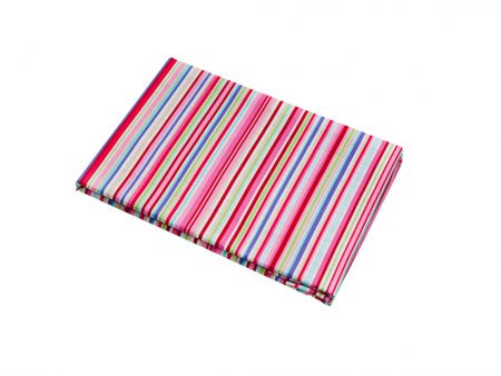 Lucy candy coloured striped Fitted Sheet