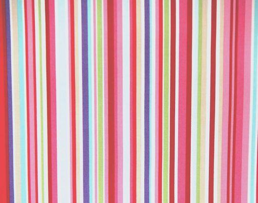 fine striped girls duvet / quilt cover