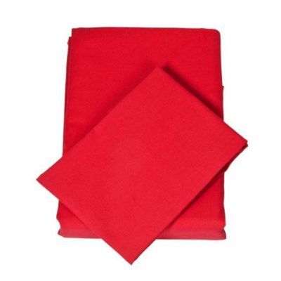 Chilli Red Sheet Set