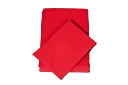 Chilli Red Sheet Set