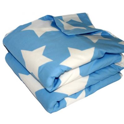 Wills Star blue and white star Quilt Cover