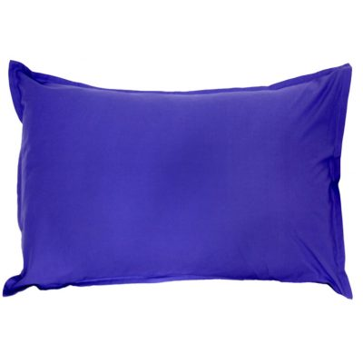 Purple Groovy Grape cotton pillowcase