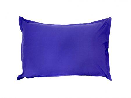 Purple Groovy Grape cotton pillowcase