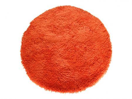 Sunny Orange Floor Rug