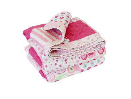 Victoria quilted patchwork comforter
