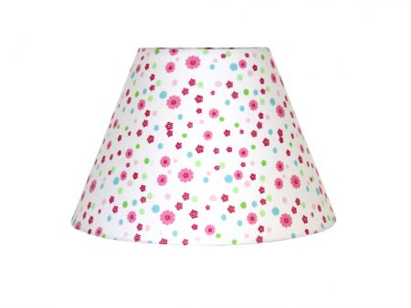 Victoria floral lampshade