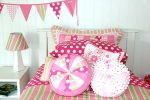 Emma quilt cover and pink spot sheeting