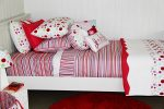 Lucy candy stripe quilt cover and quilted comforter