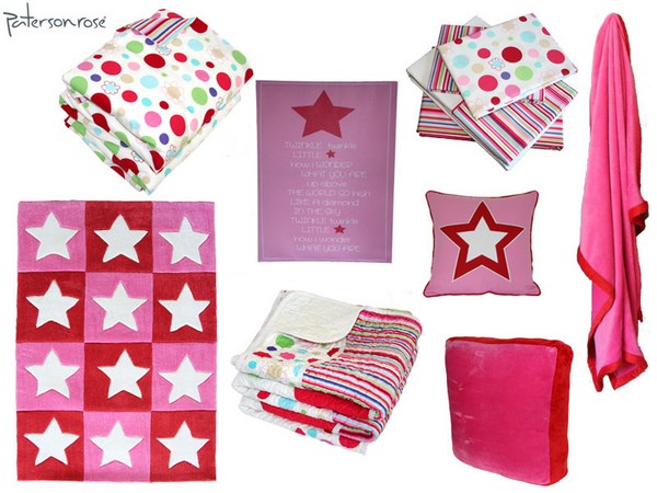 Pik n Mix - Lucy with Red-Pink Stars (Copy)
