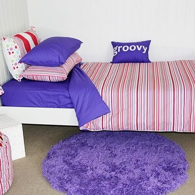 Lucy Stripe Quilt Cover Set