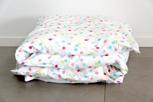 Ashley pastel spotted quilt cover / doona