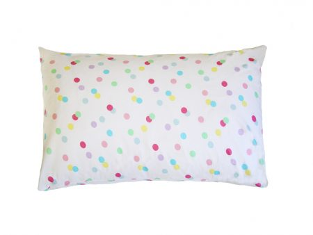 Ashley pastel spotty 100% cotton pillowcase