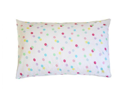 Ashley pastel spotty 100% cotton pillowcase