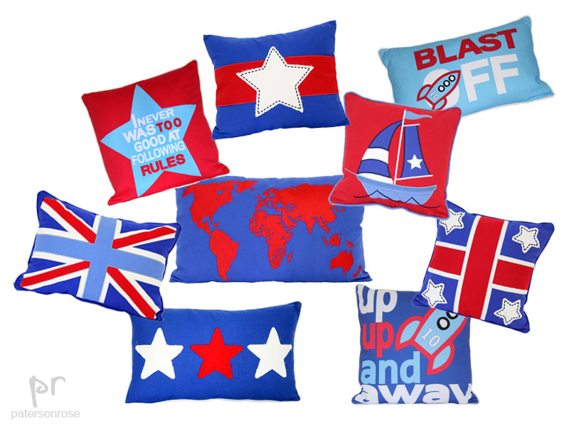 red-blue-boys-cushions