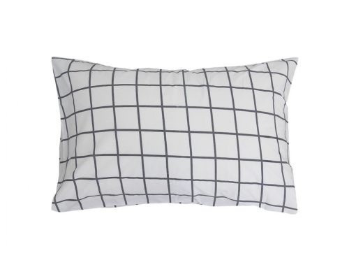 Charcoal Square Pillowcase