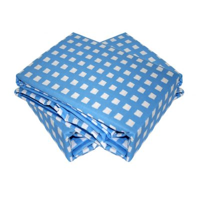Blue Check Sheet Set
