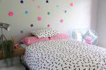 Jemima balck & white quilt cover / duvet