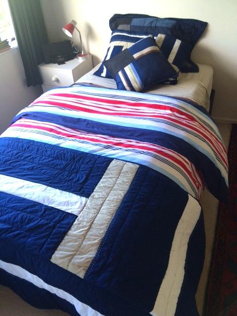 Mariner boys quilt cover & boys cotton comforter