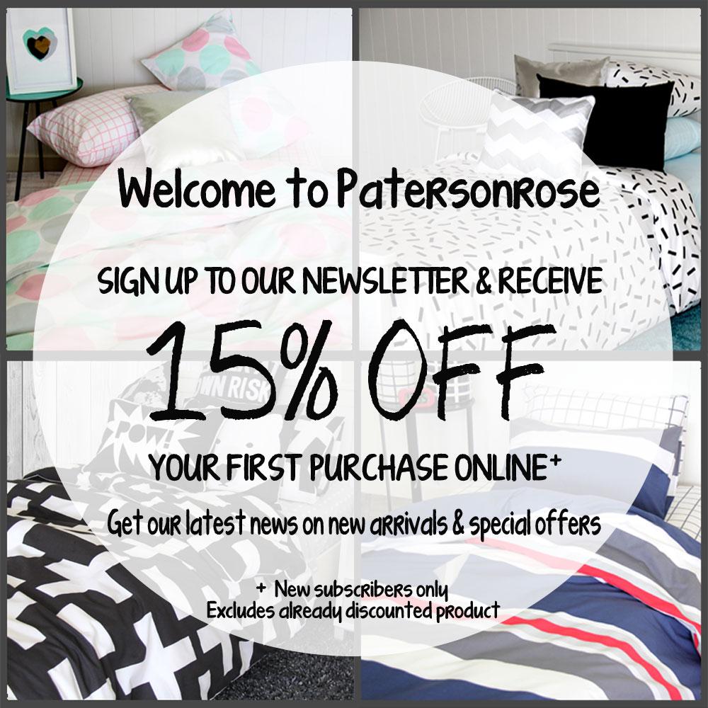 PR Pop Up - Newsletter Sign