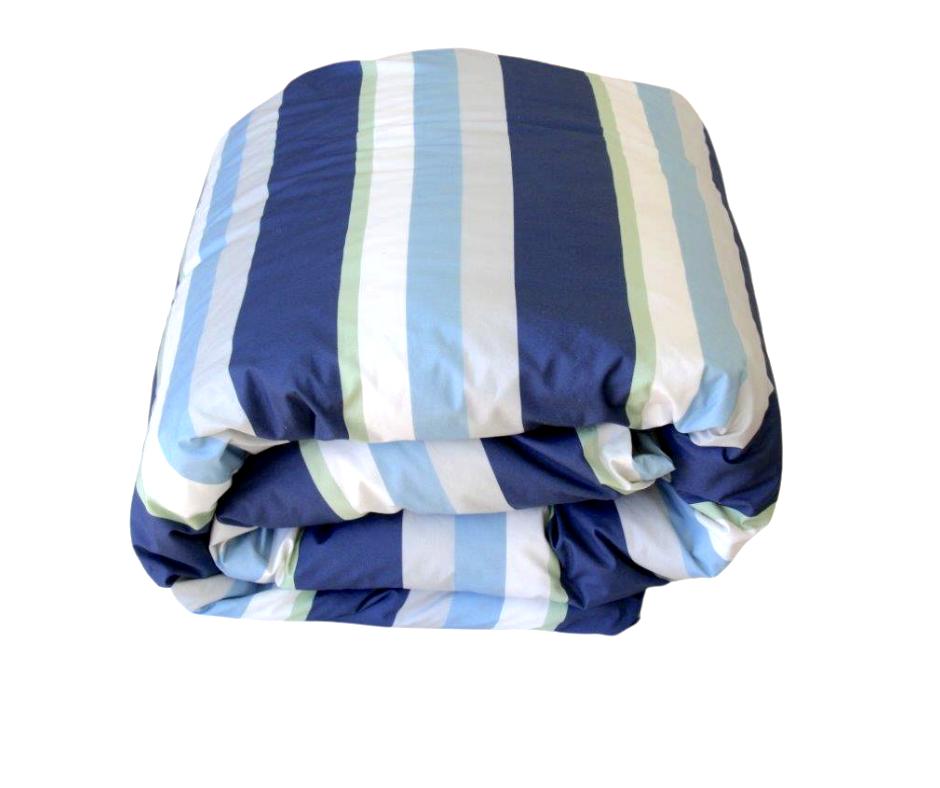 Monty boys striped duvet cover