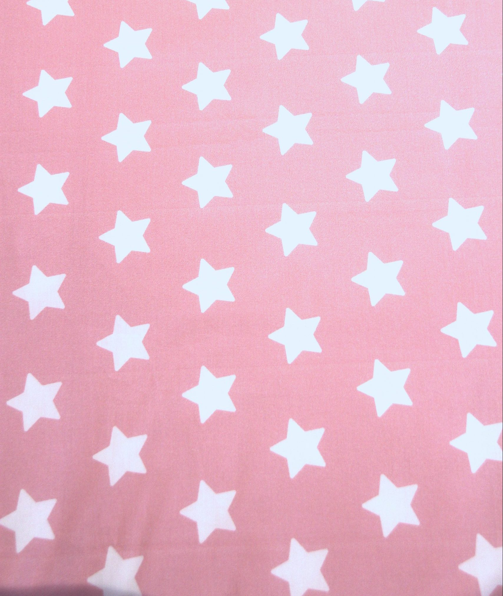 Rosa girls pink with white star fabric