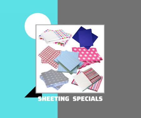Sheeting & Pillowcase Specials