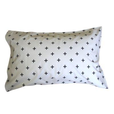 Flint grey boys teenager pillowcase