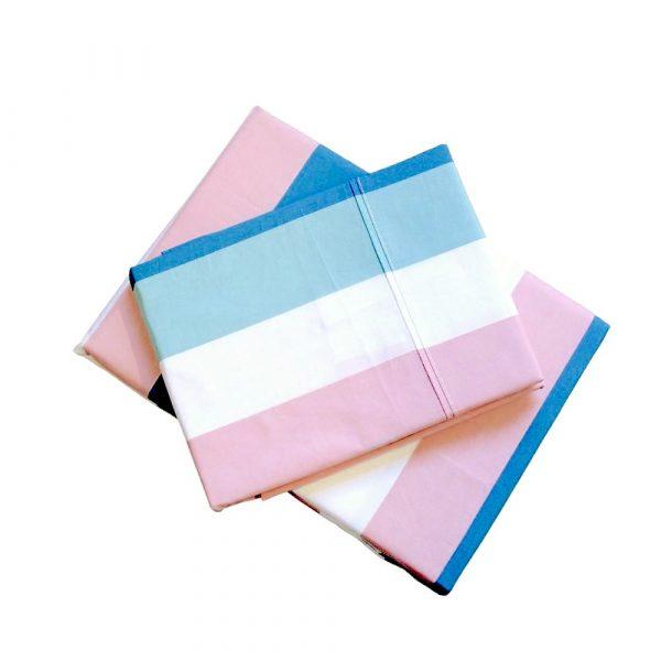 Harriet striped sheet set bed linen bedding