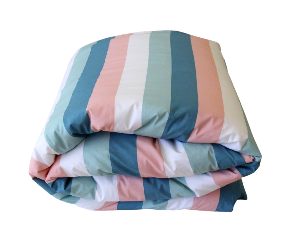Harriet girls striped duvet