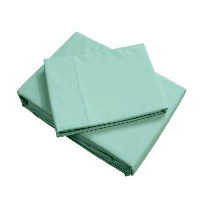 Sage green boys, girls sheet set