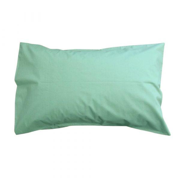 Sage green boys, girls, teenage, adult pillowcase bed linen
