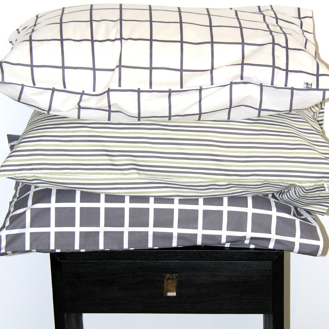 boys grey pillowcases